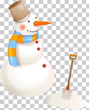 Snowman Christmas Scarf PNG