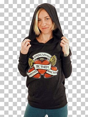 T-shirt Hoodie Sleeve Sweater PNG