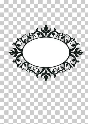 Borders And Frames Art Nouveau Ornament Frames PNG