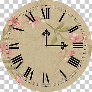 Clock Face Roman Numerals Digital Clock PNG