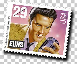 Elvis Presley Forever Stamp Graceland Postage Stamps Mail PNG