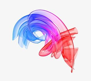 Color Smoke Lines PNG