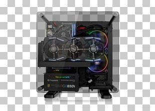 Computer Cases & Housings Power Supply Unit Thermaltake Mini-ITX ATX PNG