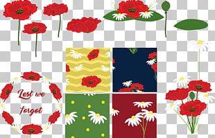 Floral Design Cut Flowers Petal Pattern PNG