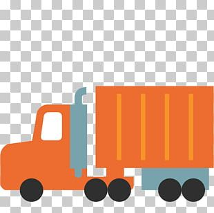 Semi-trailer Truck Emoji Articulated Vehicle PNG