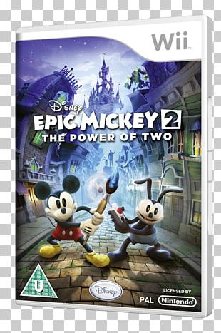 Wii U Epic Mickey 2: The Power Of Two Xbox 360 Mickey Mouse PNG