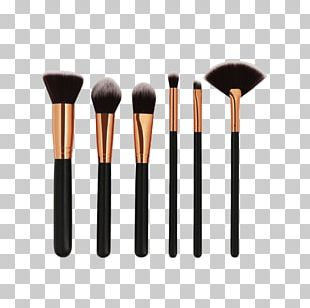 Cosmetics Makeup Brush Face Powder Rouge PNG