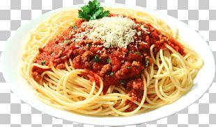 Pasta Salad Bolognese Sauce Italian Cuisine Spaghetti PNG