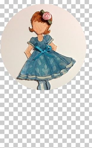 Toddler Costume Turquoise PNG