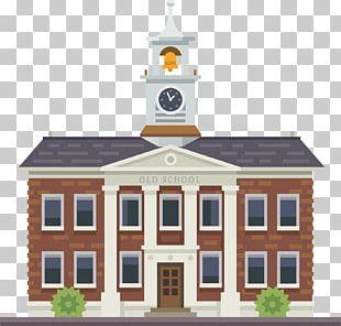Building University School Illustration PNG