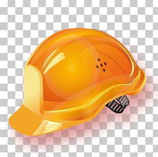 Helmet Hard Hat Yellow PNG