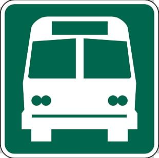 Bus Stop Traffic Sign Stop Sign Road PNG