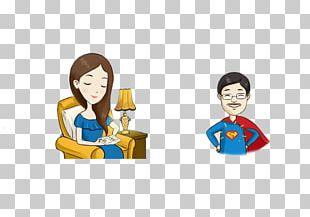 Clark Kent Cartoon Man Illustration PNG