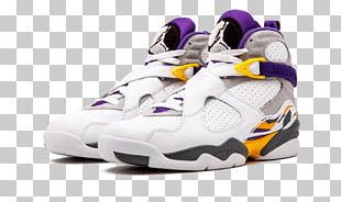 Air Jordan Shoe Sneakers Los Angeles Lakers Air Force 1 PNG