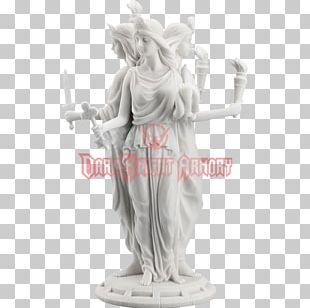 Hecate Artemis Statue Ancient Greek Sculpture Greek Mythology PNG