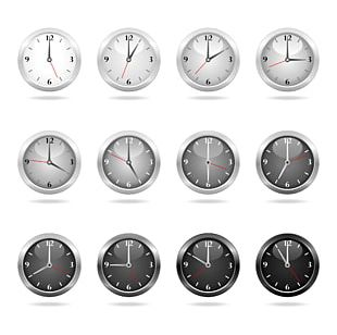 Clock Face Stock Photography Illustration PNG