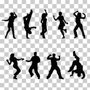 Free Dance Silhouette Breakdancing PNG