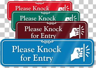 Sign Name Plates & Tags Label Housekeeping Door Hanger PNG