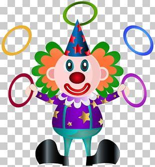Clown Pierrot Icon PNG