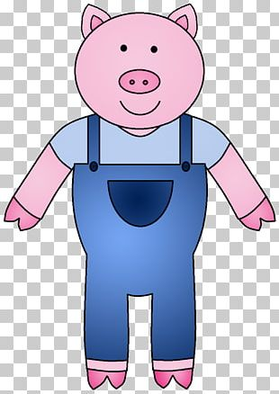 The Three Little Pigs Domestic Pig PNG