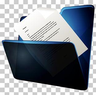 Blue Brand Multimedia Font PNG