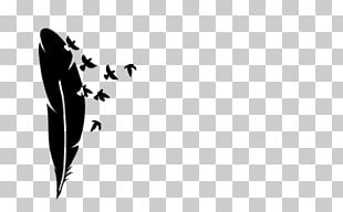 Feather Bird Abziehtattoo PNG