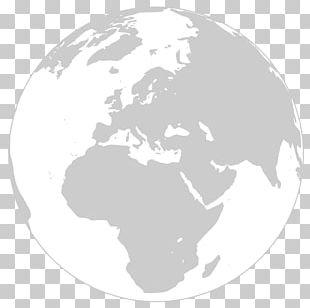 Globe Wikipedia World Map PNG