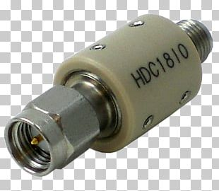 Coaxial Cable DC Block SMA Connector Electronic Component Hertz PNG