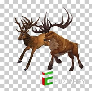 Reindeer Warlords Of Draenor Red Deer Elk PNG