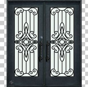 Window Wrought Iron Door Gate Steel PNG