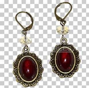 Earring Victorian Era Victorian Jewellery Medieval Jewelry PNG