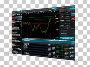 Electronic Trading Platform Computer Software Trader Technical Analysis PNG