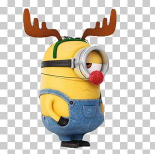 Reindeer Stuart The Minion Christmas Card Minions PNG