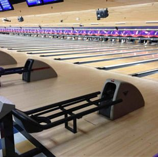 Bowling Alley Ten-pin Bowling American Machine And Foundry Pinsetter PNG