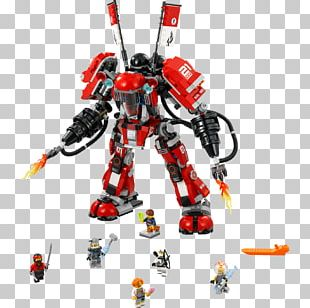 LEGO 70615 THE LEGO NINJAGO MOVIE Fire Mech Amazon.com Toy PNG