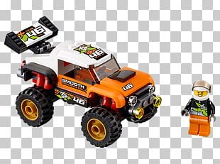 Amazon.com LEGO 60146 City Stunt Truck Toy Lego Minifigure PNG