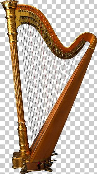 Harp Drawing Musical Instruments PNG