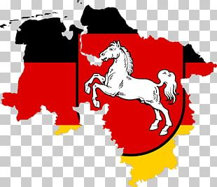 Flag Of Lower Saxony States Of Germany Coat Of Arms Of Lower Saxony Stock Photography PNG