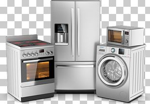 Home Appliance Major Appliance Refrigerator Washing Machines Dishwasher PNG