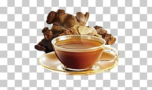 Ginger Tea Drink Brown Sugar PNG