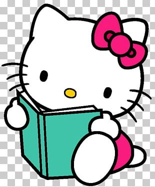 Hello Kitty Online Book PNG