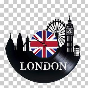 London Clock Phonograph Record Vinyl Group House PNG