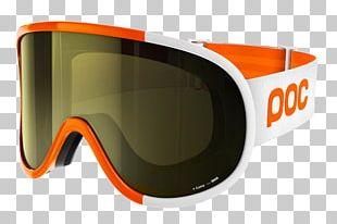 POC Sports Light Retina Yellow Orange PNG