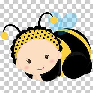 Bumblebee Baby Shower Infant PNG