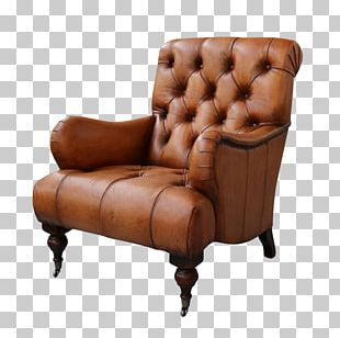 Club Chair Wing Chair Recliner アームチェア PNG