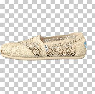 Beige Shoe Walking PNG