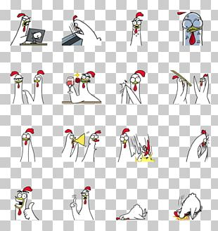 Sticker Chicken Online Chat Chat Room PNG