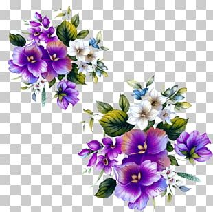 Floral Design Flower Purple PNG