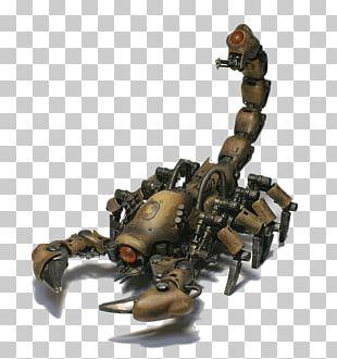 Scorpion Robotics Mecha Animal PNG
