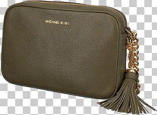 Handbag MICHAEL Michael Kors Black Ginny Medium Cross Body Bag MK Crossbody Bag Michael Kors Ladies Ginny Leather PNG
